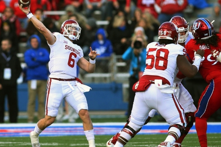 Baker Mayfield apologizes, says he 'got caught up' in chippy game
