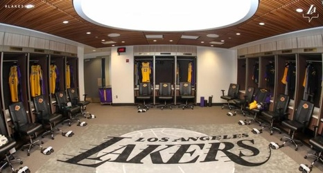 9518dfb2c74c LeBron James Takes Kobe Bryant s Old Locker In Renovated Lakers Locker Room  At Staples Center