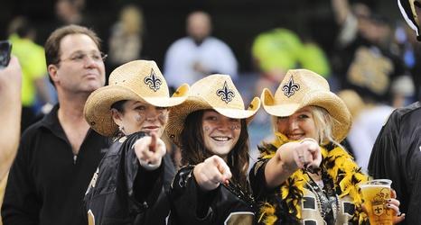 12da388c6 Women Are Quickly Taking Over NFL: New Orleans Saints fan Kortlin Favorite  explains