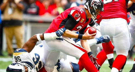 Matt Ryan's ankle injury adds to implosion for hopeless Falcons