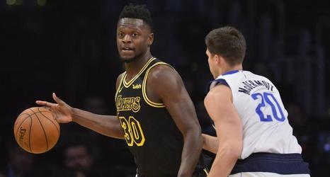 Lakers Vs Mavericks Final Score Julius Randle S Triple
