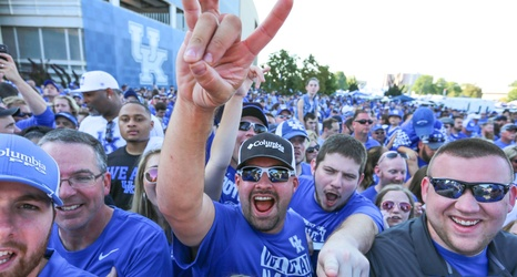 Image result for big blue nation crowd