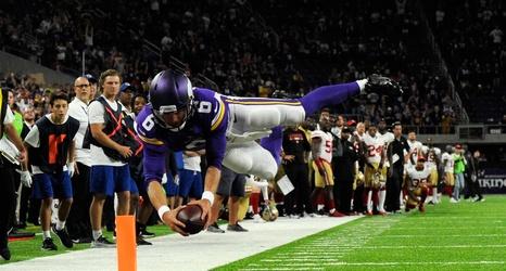 0244adfd 2018 NFL Week 1: San Francisco 49ers at Minnesota Vikings