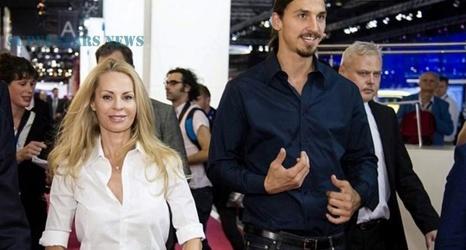 Ella Es Helena Seger La Bella Y Elegante Esposa De Zlatan Ibrahimovic