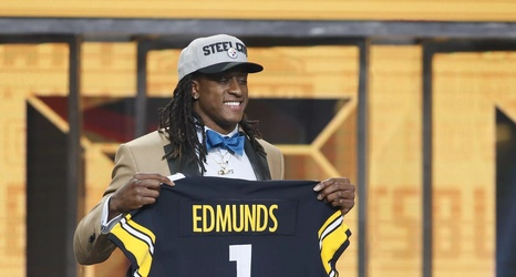 5ed579541f3 Steelers announce the jersey numbers of their 2018 rookie class