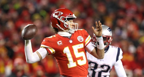 best authentic 4818e a12e2 2019 Pro Bowl: Patrick Mahomes among 5 Chiefs in NFL's all ...