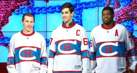 2412cea0a24 Canadiens unveil their 2016 Winter Classic jerseys