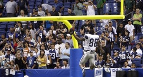 Dez Bryant Drains One Handed Half Court Shot On Air Jordan S