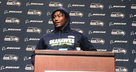 """fb9342a7 Scooters, hoops: Brandon Marshall loves Seahawks' vibe, playing with  """"special"""" Russell Wilson"""