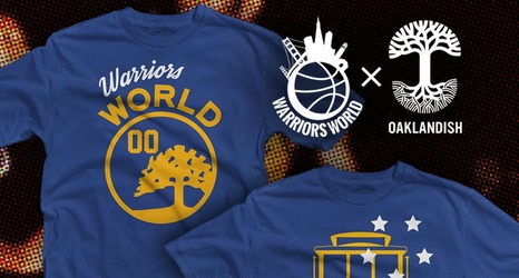 Warriorsworld X Oaklandish Shirts Available Now The warriorsworld podcast is dedicated to talking golden state warriors basketball, the nba, and everything in between. chat sports