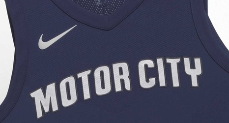 new arrival 8e737 f50e5 Detroit Pistons unveil 'Motor City' uniform