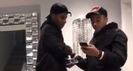 Jesse Lingard Urges His United Side To Make Manchester Red As He Poses With Marcus Rashford In Matching 1 500 Jackets