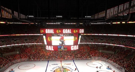 United Center Will Have New Scoreboard Sound System In 2019