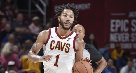 promo code 876d5 4a35d Derrick Rose 'Fine' with Cavs Salary, Says He'll Make Double ...