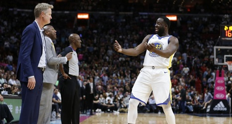 Watch: Steve Kerr and Draymond Green Can't Come to Agreement