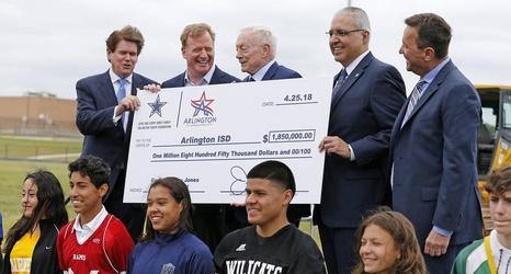 Arlington school district receives $1 85 million donation