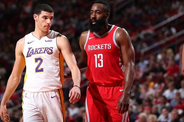 Harden leaves with injury, but Rockets beat Lakers in double overtime
