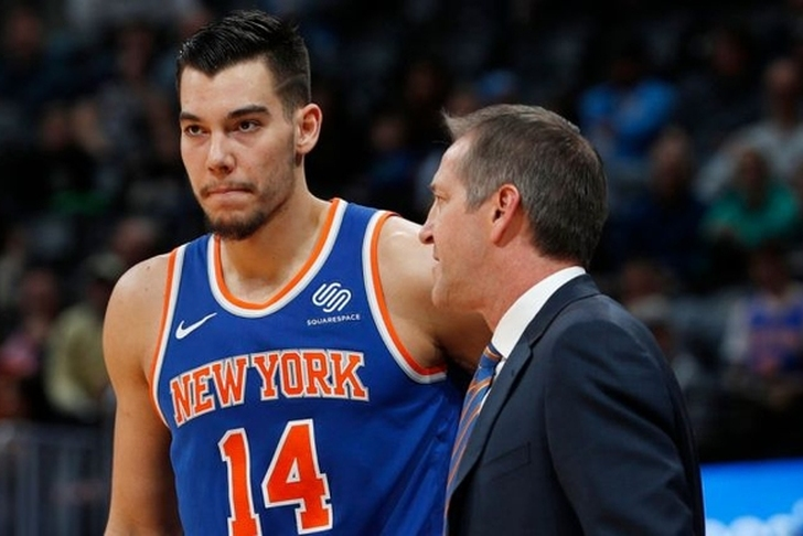 Willy Hernangomez asks Knicks to deal him