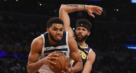 9e47d546d4ec Lakers Vs. Timberwolves Preview   TV Info  Karl-Anthony Towns Presents  Challenge As L.A. Looks To Snap 2-Game Losing Streak