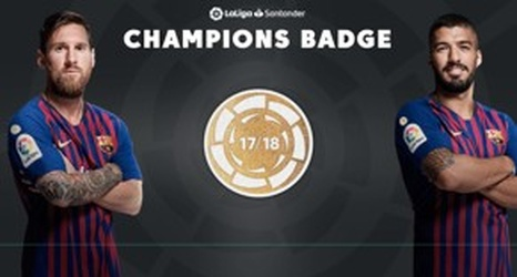 newest 27290 d7c97 Barcelona's new champions badge evokes similarities with the ...