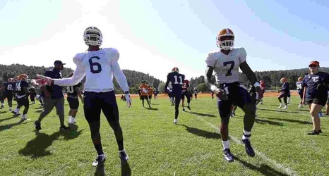 Freshman Most Consistent Of Linebackers In 6 Way Position Battle