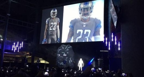 the latest 7be18 b7d59 Detroit Lions' new uniforms include throwback, Color Rush ...