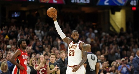4f4c8034294 LeBron James joining the Lakers  See James  goodbye message to Cleveland