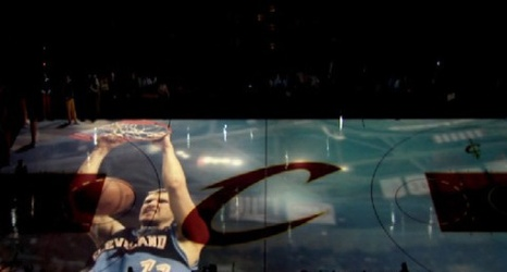 Check Out Cleveland Cavaliers 3d Floor Projection System