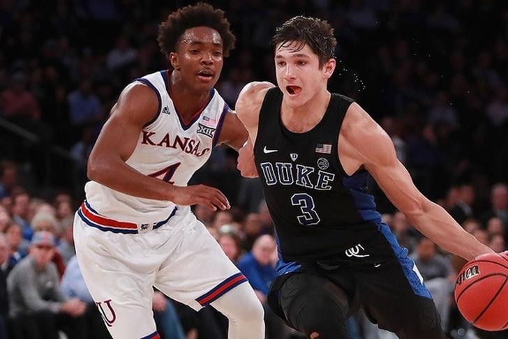 Kansas tops Duke in overtime thriller