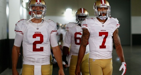 Colin Kaepernick Is The Most Notable Contract On 49ers Qb Depth Chart