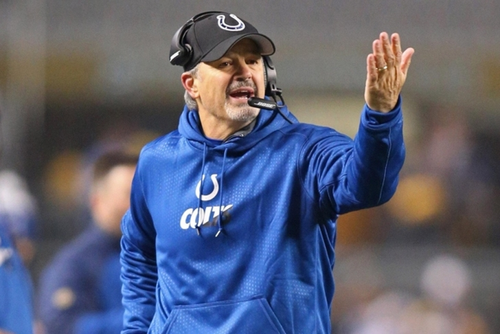 Indianapolis Colts fire coach Chuck Pagano; does Luck's shoulder mar opening's attractiveness?