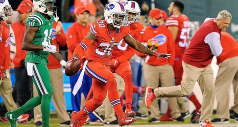 best service ed429 a0cfd Bills to stick with Color Rush uniforms