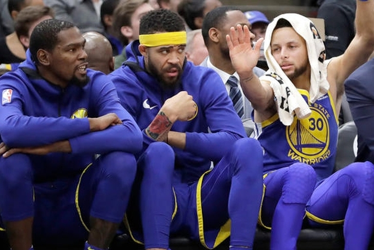 McGee starts, Curry erupts, Warriors regain posture