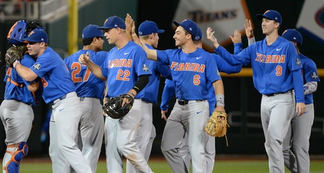 newest be08e f059b Florida Baseball: Gators defeat LSU behind arms of Singer, Byrne