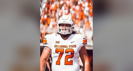 Big Dude With A Mullet How Josh Sills Settled In Quickly On The Field And Off With Osu Football