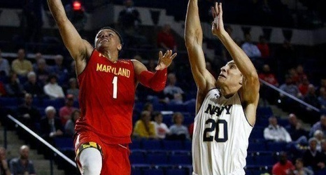 Schmuck Maryland Basketball Finally Figured It Out In Second Half To Glide Past Navy In Veterans Classic