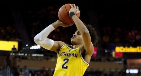 save off 82377 0d633 Michigan basketball has national title vibes when Jordan Poole gets hot