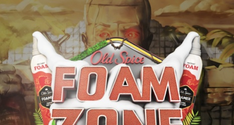 Watch the Craziness of Old Spice Foam Zone, Featuring Von