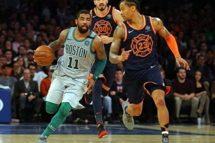 Kyrie Irving says focus is on health, 'redemption,' not Celtics extension