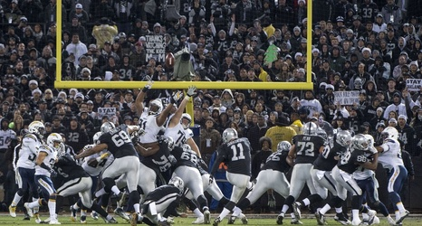 san diego chargers at oakland raiders game time online streaming