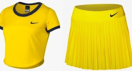 f27d11dc78f3 Crop top! Woohooo! Serena Williams' outfit for the 2016 Australian Open