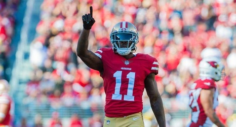 7e1c0cefa94 49ers WR Marquise Goodwin signs 3-year extension after career-best season