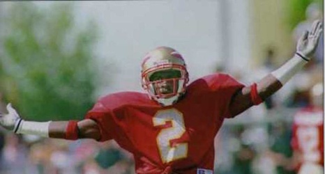 446624f7476 FSU Football: Deion Sanders Posts Perfect Picture For Throwback Thursday