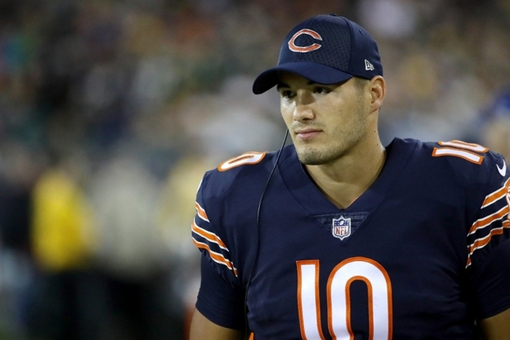 Examining Bears plan with Mitchell Trubisky