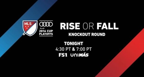 Where to watch the rest of Sunday's MLS Cup playoff action