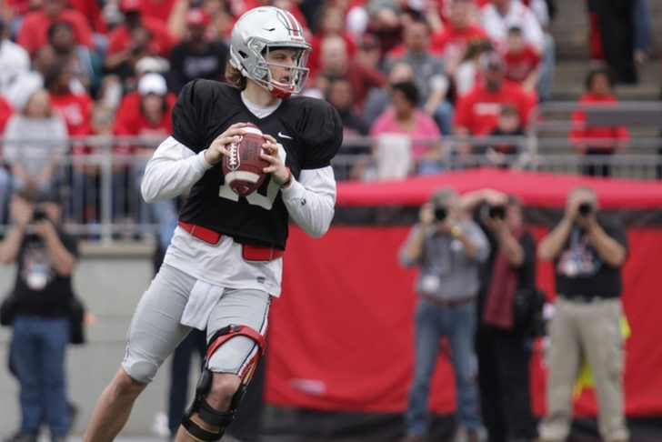 LSU reportedly given permission to contact Ohio State transfer QB
