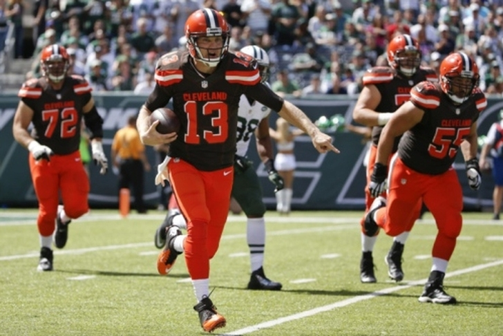 2104a6df Browns News: Cleveland To Start Josh McCown If He's Healthy