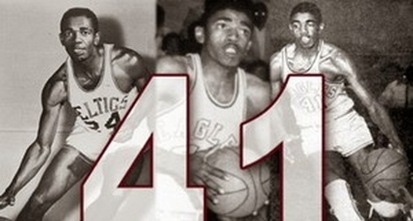 quality design e9120 2d470 Congrats to Sam Jones who had his jersey number retired at ...