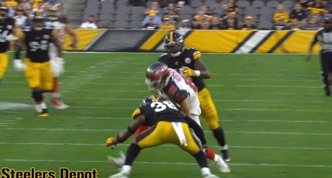 cheaper 3ade8 64f8d Film Room: Kameron Kelly Starts For Steelers