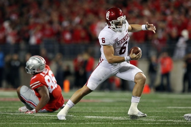 Baker Mayfield plants Sooners' flag with statement game against Ohio State
